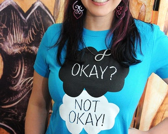 Sale!!  OKAY? NOT OKAY!!  Women's American Apparel fitted in medium, large, or extra large