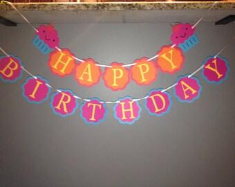 Happy Birthday Banner/ Paper Banner