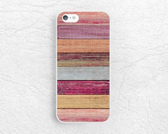 Colorful Wood print Phone Case for iPhone 6/6s, iPhone 7 plus, Sony Z4 Z5, LG g4 Nexus 5X, HTC one M9 m8, Nexus 6P, Samsung S6 S7 edge -X4