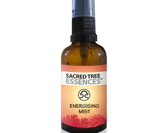 ENERGISING MIST Shamanic Aura & Space Spray a synergy of  sacred Amazonian master plants, essential oils and icaros, medicine songs.