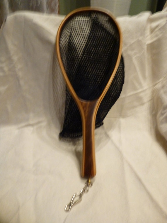 Small landing net for trout fishing by prestonnets on etsy for Small fishing net