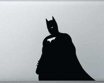 Batman macbook decal