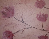 Pink Flowers(Diptych)