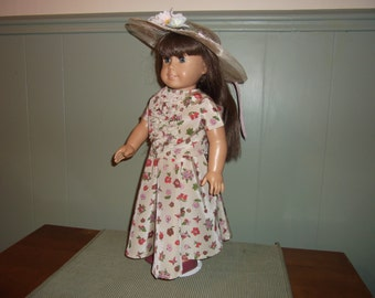American Girl doll Circle skirt with matching top