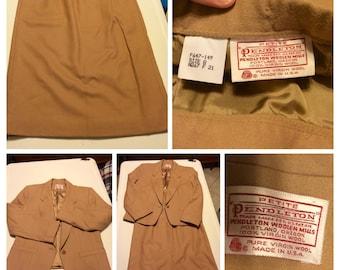 Vintage Pendleton Women's suit