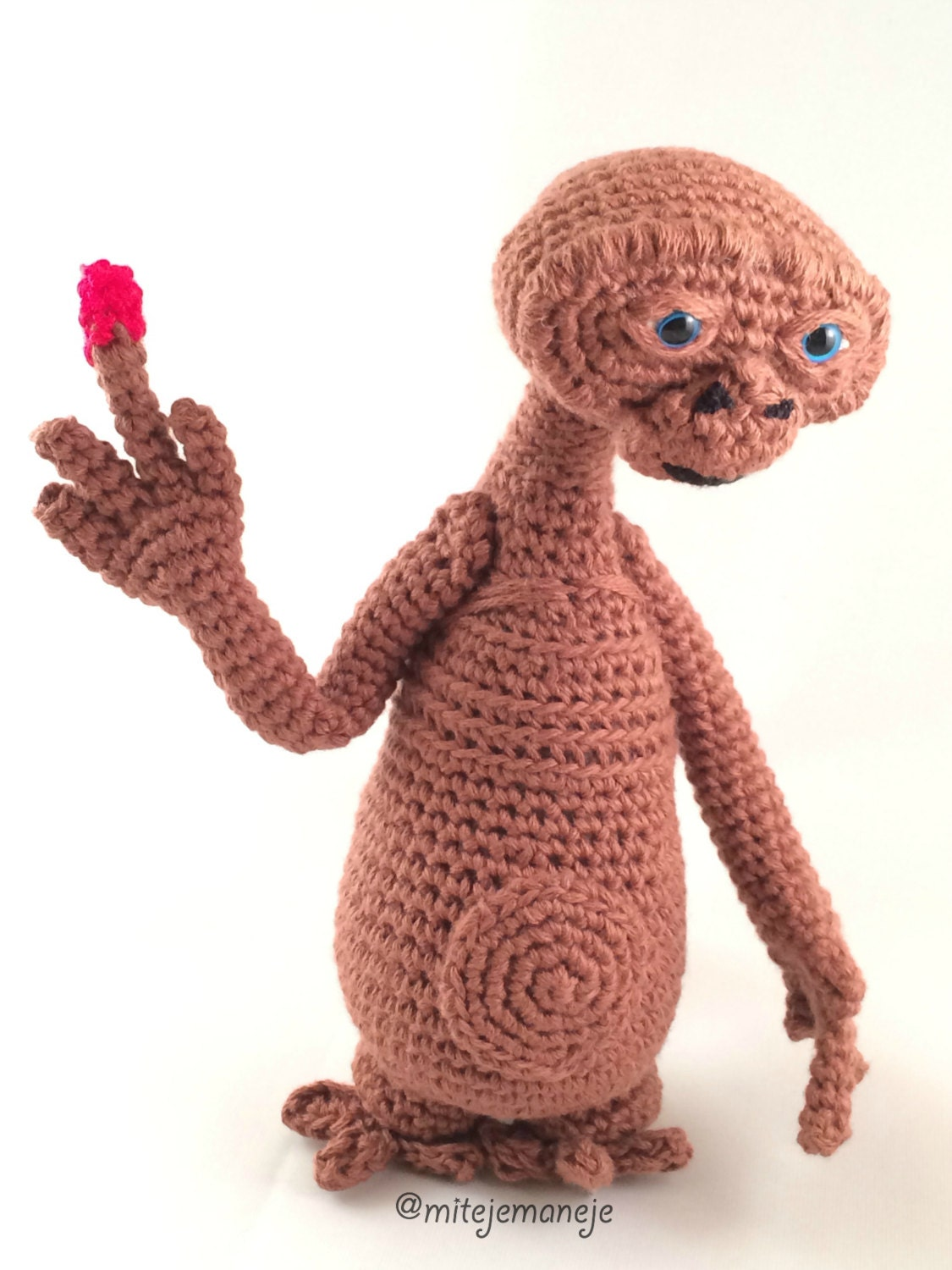 Amigurumi Alien : Amigurumi alien E.T. by Mitejemaneje on Etsy
