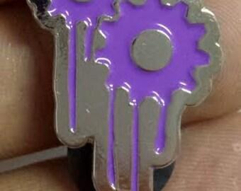 Official Strange Mechanics Hat Pin