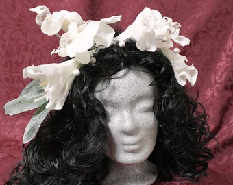 Romantic headdresses Orchid