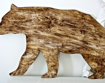 Rustic Animal Cutouts - Country Wildlife Home Decor - Cabin Decor