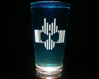 Kamen Rider Decade Pint Glass