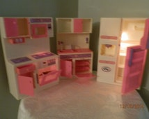 Vintage, Barbie Furniture with working Lights,