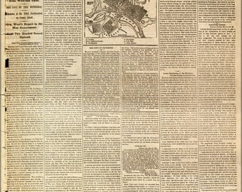 24x36 Poster; Nyt 1862 Richmond, Virginia And Its Defenses