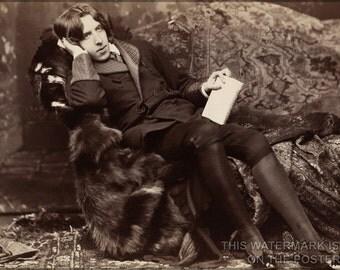 24x36 Poster; Oscar Wilde