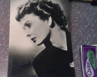 Genuine Jean Simmons autographed studio photo now 20% off