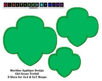 handmade girl scouts applique etsy