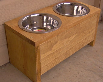 Brand New Elevated Pet Feeder, 8 Inches Raised Bowl for Dogs - Free Shipping