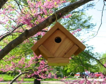 2 Brand New Wren Bird Houses - Free Shipping
