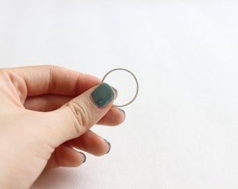 Ultra Skinny Stacking Ring, Sterling Silver Thin Ring