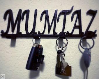 Personalized Key Rack