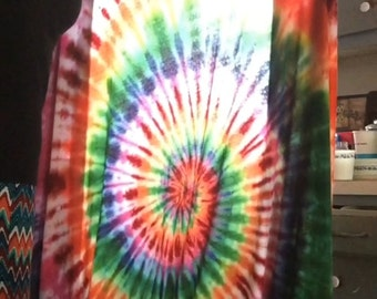 Tiedye bed sheets!