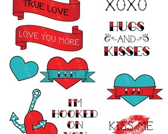Tattoo Love Clip Art