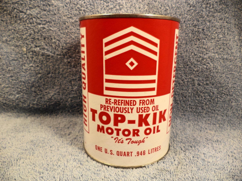 top kik re refined motor oil 1 quart motor oil by