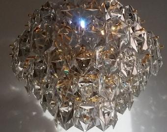 Top of the range..24k gildlayer, crystal chandelier from world famous manufacturer, Germany..lustre en verre doré