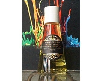 French Vanilla Perfume Body Oil 2.7 Fl Oz