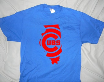 Chicago Cubs Inspired State Design