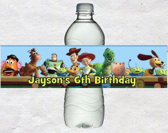Toy Story Water Bottle Labels Toy Story Water labels