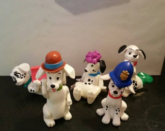101 Dalmation Dog Figures Mc Donalds