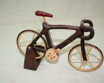 Road Bicycle wood toys
