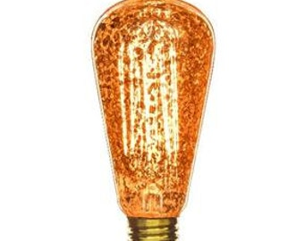 edison light bulb antique light bulb golden fleck s19 40w e26 edison light - Antique Light Bulbs