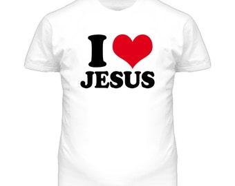 I Love Jesus T Shirt