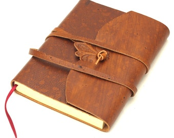 Crystal leather journal-various colors