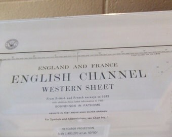 The English Channel - England and France - Nautical Chart, 4505