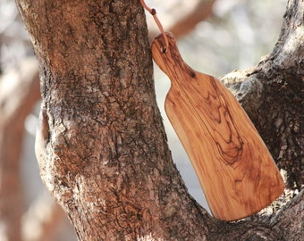 Aelia Olive Wood Cutting / Chopping Board Handcrafted In Jerusalem
