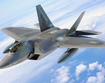 MA1 Military Aircraft F22 Raptor Fighter Jet American Air force Poster Re-Print Wall Decor A2/A3/A4
