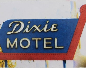 Dixie Motel Canvas
