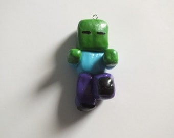 Items similar to Minecraft - Slime Family Mob Clay Figures ...