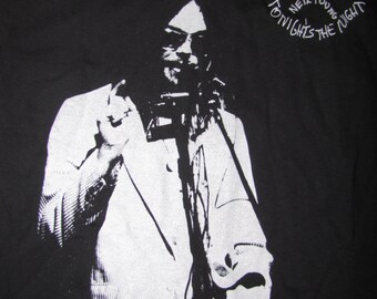 Neil Young Tonights the Night T-Shirt
