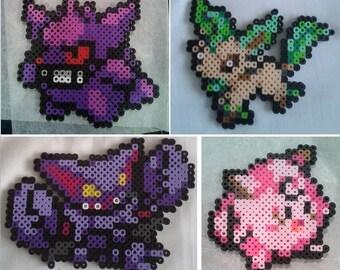 Perler Bead Pokemon Sprites - All 721 Patterns! YOU CHOOSE!