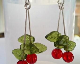 Cherry Oh Baby Earrings