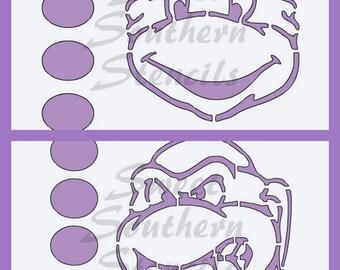 PYO Turtle Stencils  (2 separate stencils)