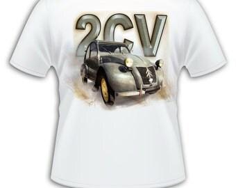 T-shirt - mens - 2CV