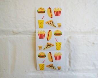 Fast Food Stickers.