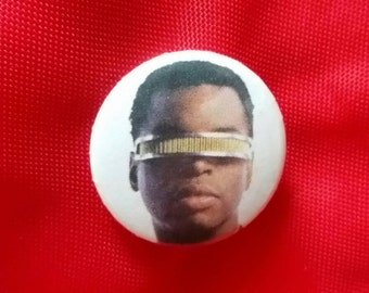 """Geordi LaForge 1"""" Pin"""