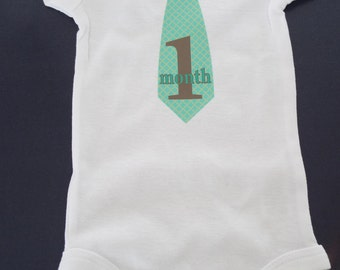 One month onesie