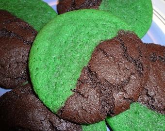 Homemade Mint Chocolate Cookies (2 Dozen)