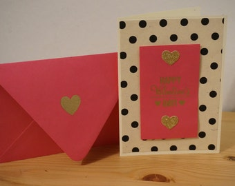 Blank Valentines Day or Love Card, add personal message